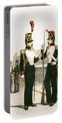 The Parisian Municipale Guard, Formed 29th July 1830 Coloured Engraving Portable Battery Charger