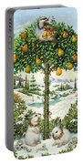 The Partridge In A Pear Tree Portable Battery Charger
