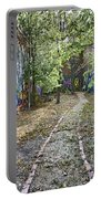 The Path Of Graffiti Portable Battery Charger by Jason Politte