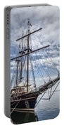 The Peacemaker Tall Ship Portable Battery Charger by Dale Kincaid