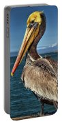 The Pelican Of Oceanside Pier Portable Battery Charger