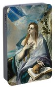 The Penitent Mary Magdalene Portable Battery Charger