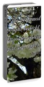 The Perfumed Cherry Tree 2 Portable Battery Charger