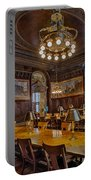 The Periodical Room At The New York Public Library Portable Battery Charger