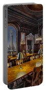 The Periodicals Room At The New York Public Library Portable Battery Charger