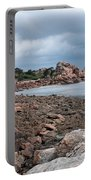 The Pink Granite Coast Brittany Portable Battery Charger