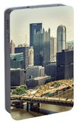 The Pittsburgh Skyline Portable Battery Charger