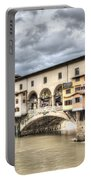 The Ponte Vecchio In Florence Portable Battery Charger
