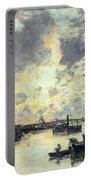 The Port Portable Battery Charger by Eugene Louis Boudin