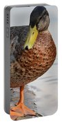 The Posing Duck Portable Battery Charger