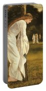 The Princess Tied To A Tree Portable Battery Charger by Sir Edward Coley Burne-Jones