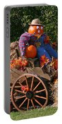 The Pumpkin Farmer Portable Battery Charger