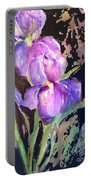 The Purple Iris Portable Battery Charger