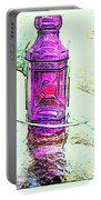 The Purple Medicine Bottle Portable Battery Charger