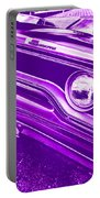 The Purple People Eater - 1970 Plymouth Gtx Portable Battery Charger