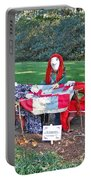 The Quilting Bee Scarecrows Portable Battery Charger