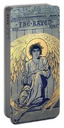 The Raven By Edgar Allan Poe Book Cover Portable Battery Charger