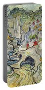 The Ravine Of The Peyroulets Portable Battery Charger by Vincent van Gogh