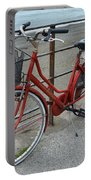 The Red Bicycle Portable Battery Charger
