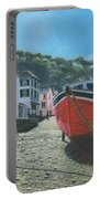 The Red Boat Polperro Corwall Portable Battery Charger