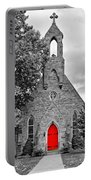 The Red Door Monochrome Portable Battery Charger