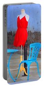 The Red Dress Lunch Special Portable Battery Charger