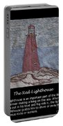 The Red Lighthouse Portable Battery Charger