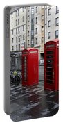 The Red Phone Booth Portable Battery Charger