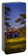 The Red Roof Barn Portable Battery Charger by Marvin Spates