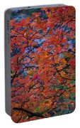 The Reds Of Autumn  Portable Battery Charger