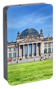 The Reichstag Building Berlin Germany Portable Battery Charger
