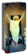 The Resurrection Of Christ By Carl Heinrich Bloch  Portable Battery Charger