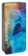 The Right Direction - Abstract Art By Sharon Cummings Portable Battery Charger