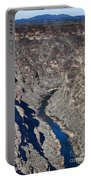 The Rio Grande River-arizona  Portable Battery Charger