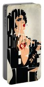 The Rocky Horror Picture Show - Dr. Frank-n-furter Portable Battery Charger by Ayse Deniz