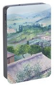 The Rolling Hills Of Tuscany Portable Battery Charger