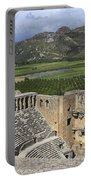 The Roman Theatre In Aspendos Antalya Turkey  Portable Battery Charger