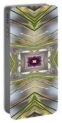 The Sacred Pine Mandala Yantra Portable Battery Charger