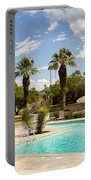 The Sandpiper Pool Palm Desert Portable Battery Charger