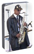The Saxophone Player Portable Battery Charger