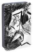 The Scream - Picasso Study Portable Battery Charger