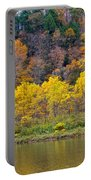 The Season Of Yellow Leaves Portable Battery Charger
