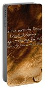 The Serenity Prayer 1 Portable Battery Charger