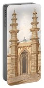 The Shaking Minarets Of Ahmedabad Portable Battery Charger