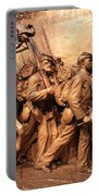 Saint Gaudens -- The Shaw Memorial's Right Side Portable Battery Charger