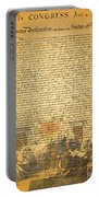 The Signing Of The United States Declaration Of Independence Portable Battery Charger