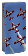 The Snowbirds Keeping It Tight Portable Battery Charger