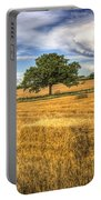 The Solitary Farm Tree Portable Battery Charger