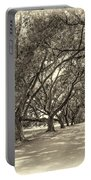 The Southern Way Sepia Portable Battery Charger by Steve Harrington