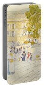 The Spanish Steps Of Rome Portable Battery Charger